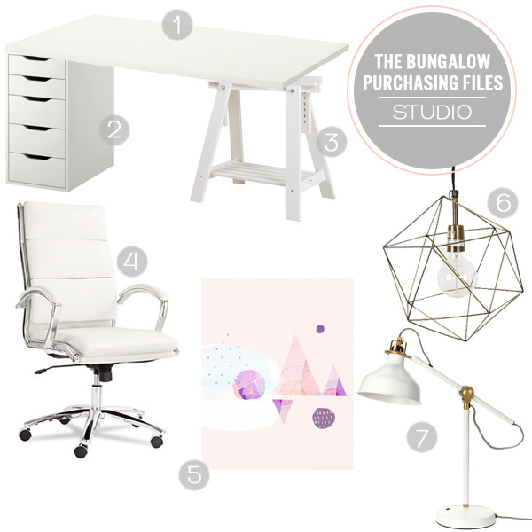 The Bungalow Purchasing Files - The Studio   Squirrelly Minds