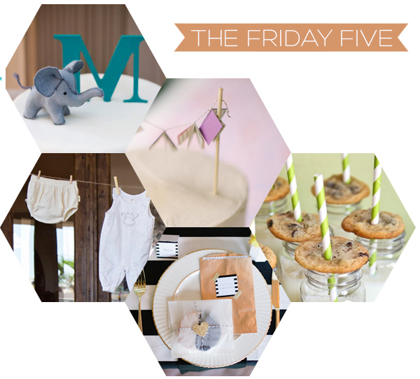The Friday Five - Baby Showers | Squirrelly Minds