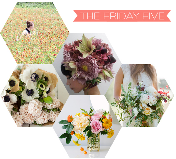 The Friday Five - Fresh Flowers | Squirrelly Minds