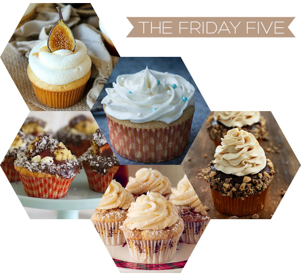 The Friday Five - Cupcakes | Squirrelly Minds
