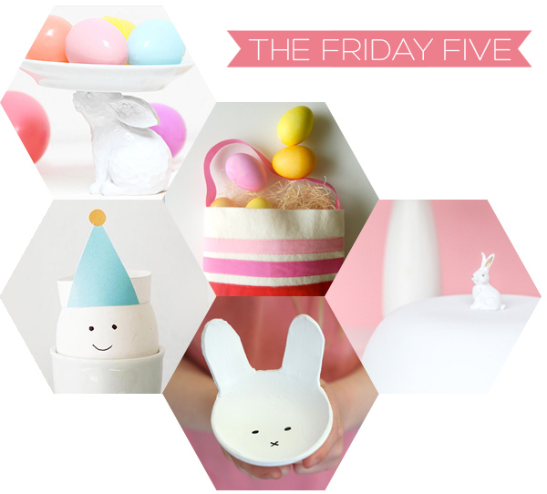 The Friday Five - Easter Crafts | Squirrelly Minds
