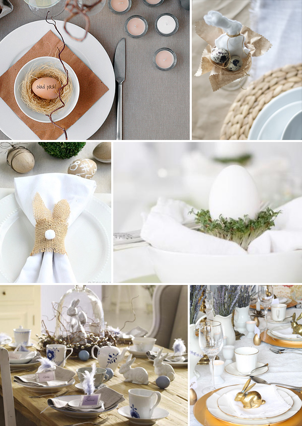 Easter Table Settings | Squirrelly Minds