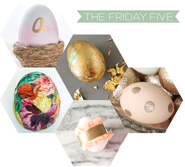 The Friday Five - Easter Eggs | Squirrelly Minds
