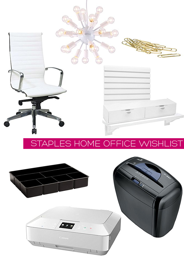 Staples Home Office Wishlist | Squirrelly Minds