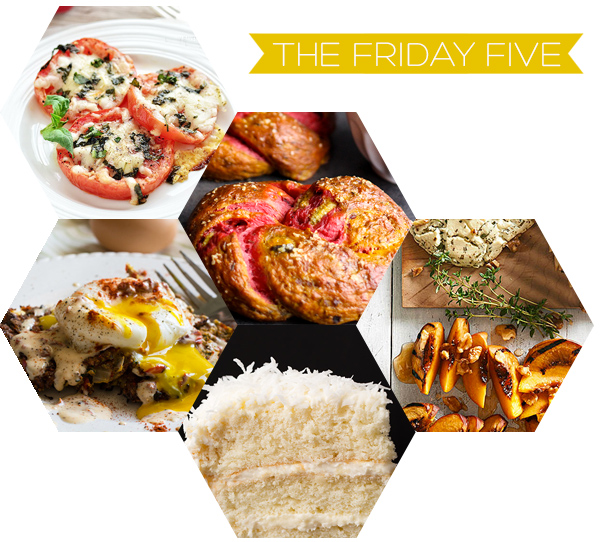 The Friday Five - Food | Squirrelly Minds