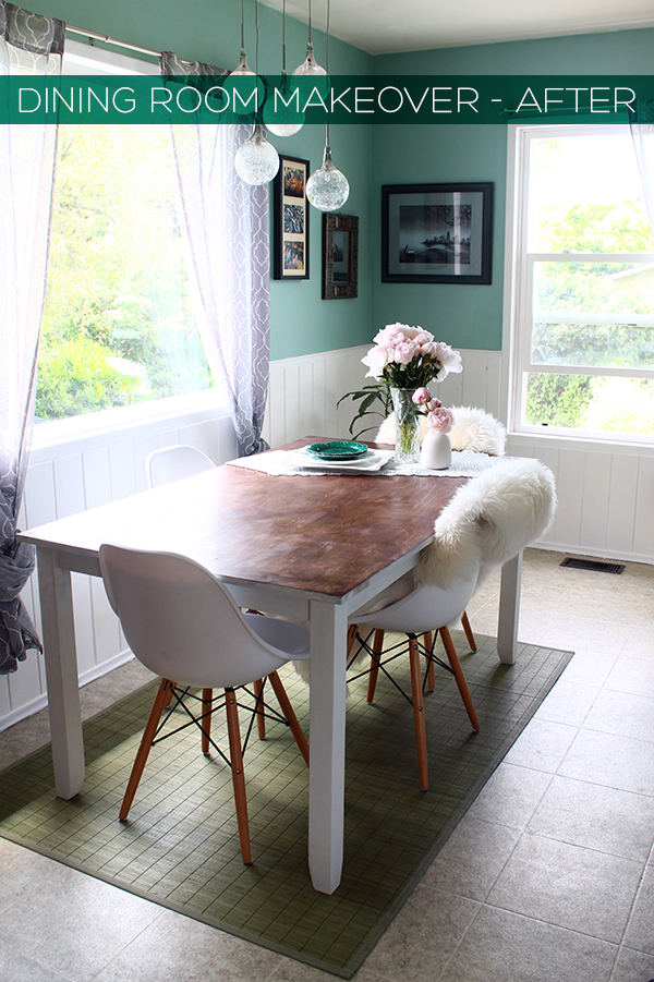 Dining Room Makeover - After | Squirrelly Minds