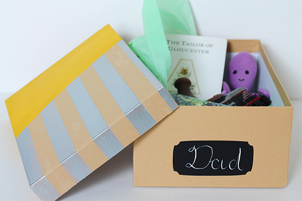Father's Day Memory Box DIY | Squirrelly Minds