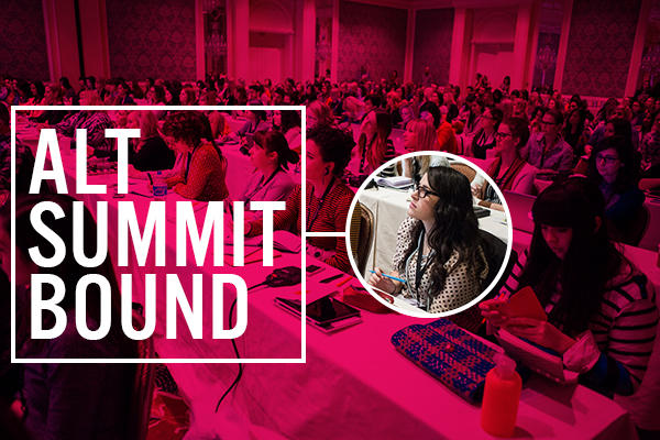 Alt Summit Bound | Squirrelly Minds