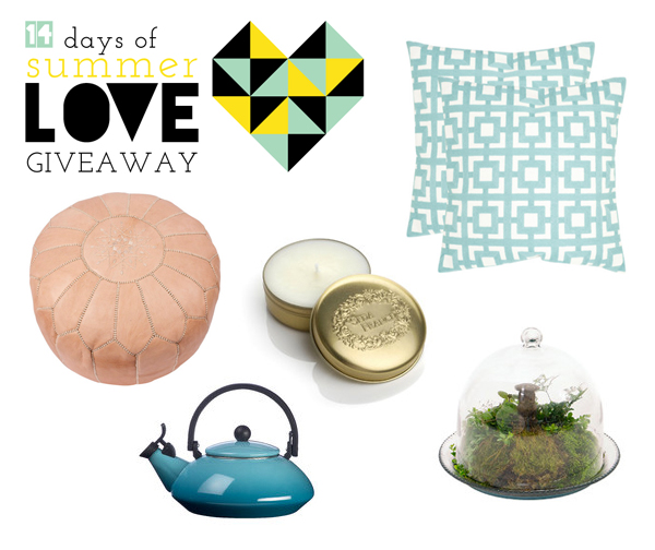 14 Days of Summer Love Giveaway - $150 Wayfair Gift Card | Squirrelly Minds