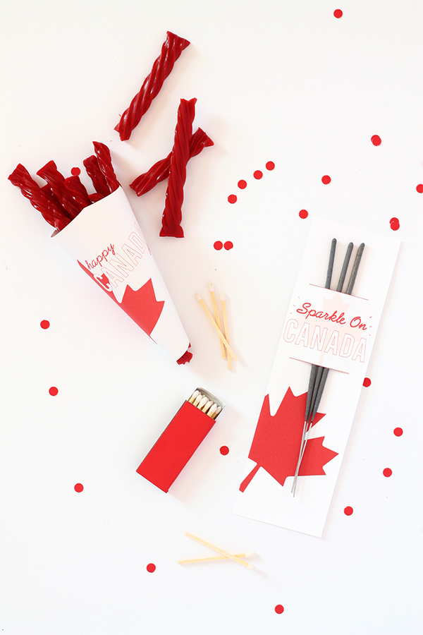 Happy Canada Day - Free Canada Day Printables| Squirrelly Minds