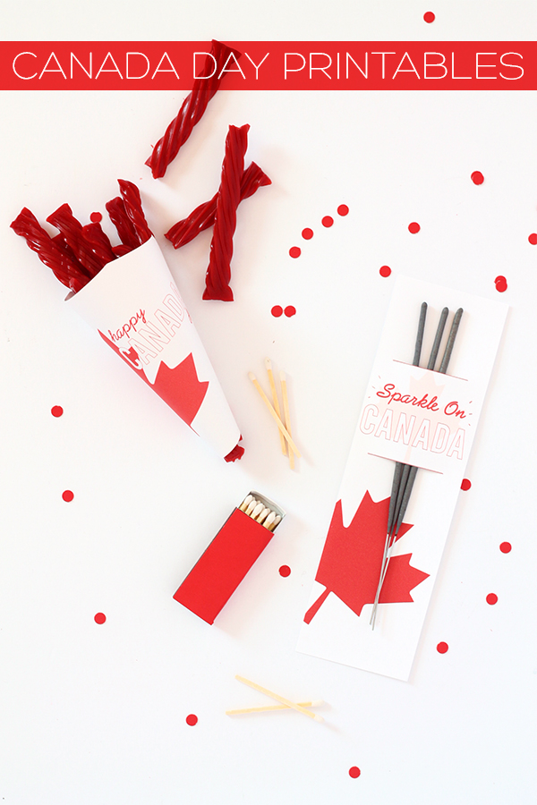 Free Canada Day Printables | Squirrelly Minds