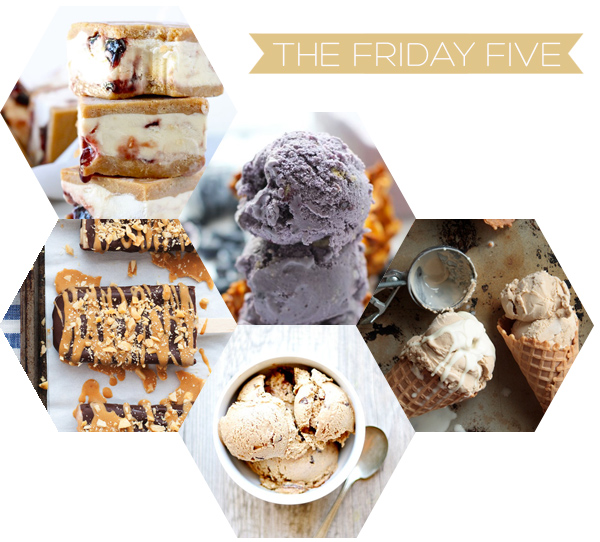The Friday Five - Ice Cream | Squirrelly Minds