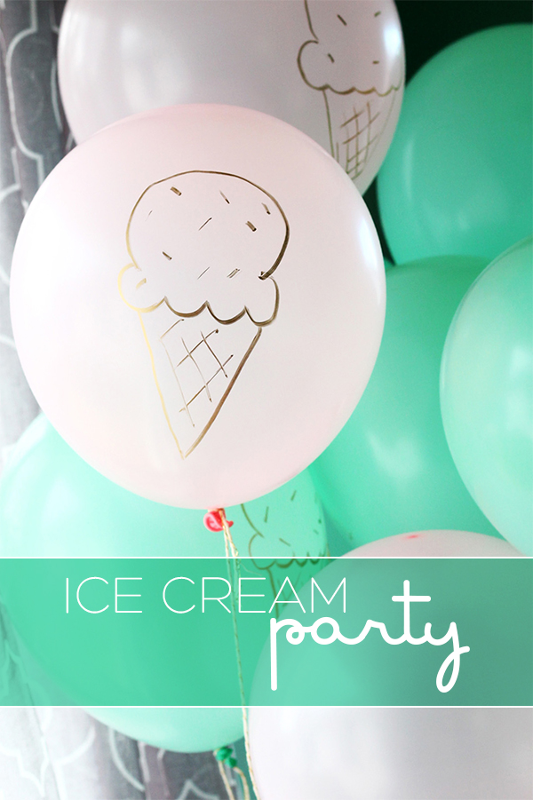 Ice Cream Party | Squirrelly Minds