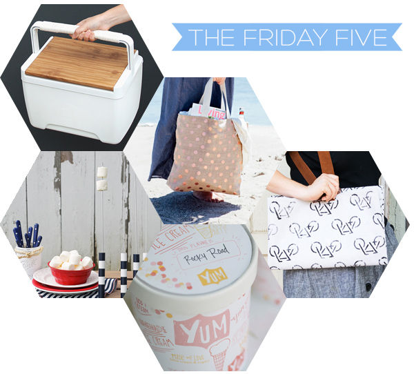 The Friday Five - Summer DIY's | Squirrelly Minds