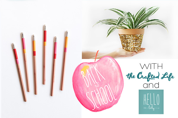 Back to School Series with The Crafted Life and Hello Lidy | Squirrelly Minds