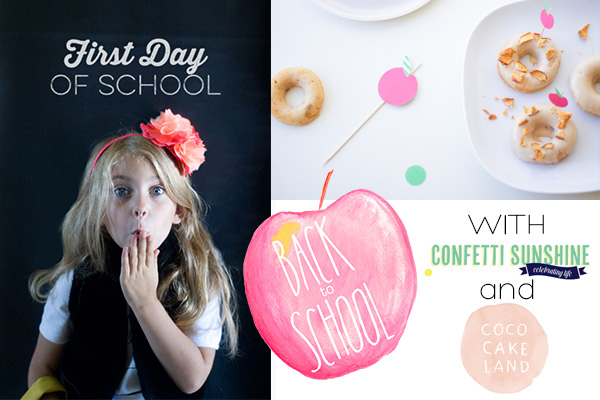 Back to School Series with Confetti Sunshine and Coco Cake Land | Squirrelly Minds