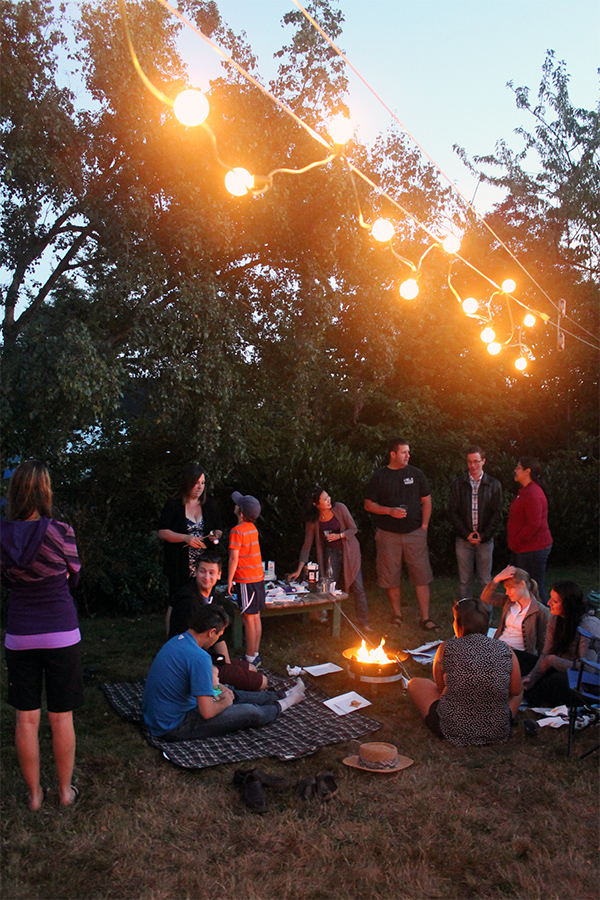 Backyard S'mores Party | Squirrelly Minds