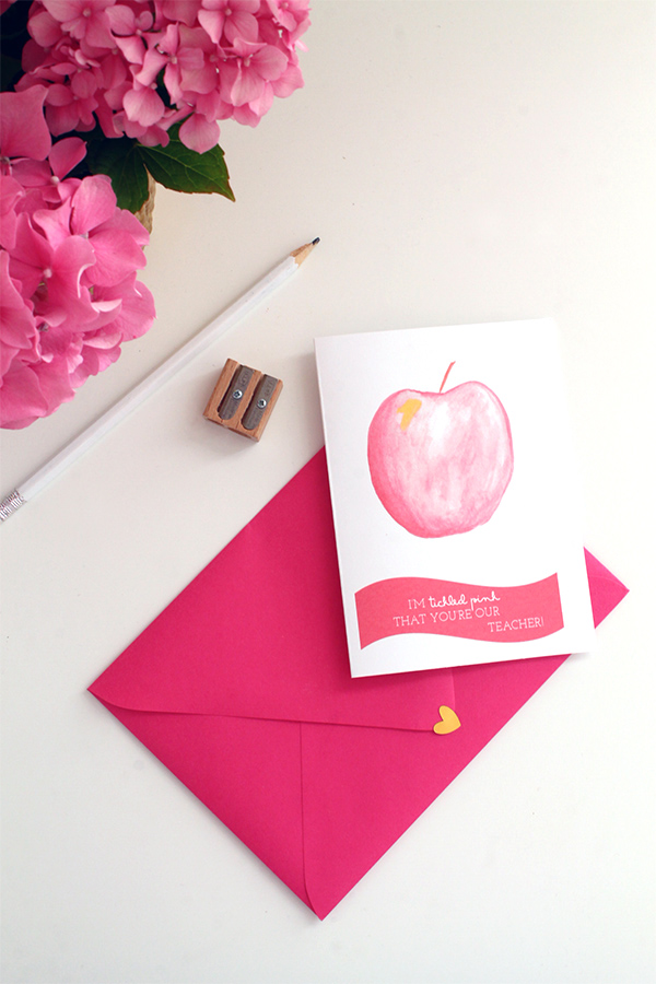 Free Printable Back to School Card | Squirrelly Minds