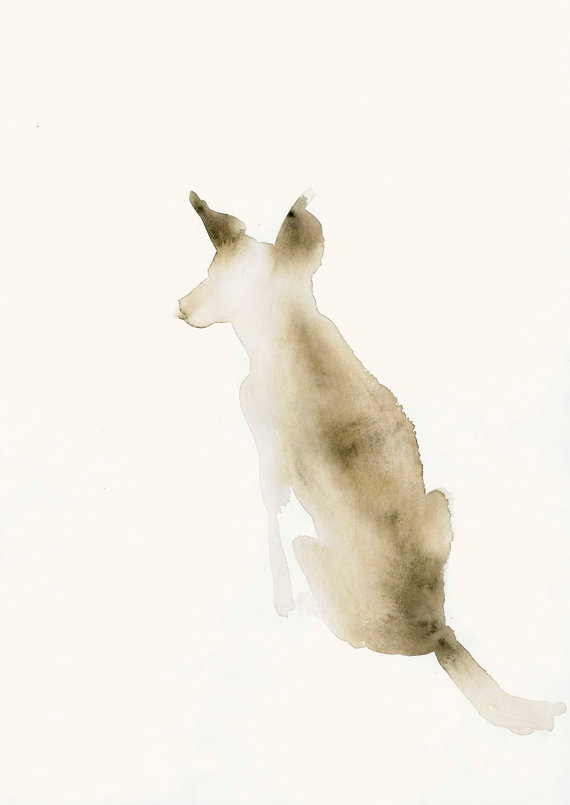 10 adorable dog art pieces to hang in your home | Squirrelly Minds