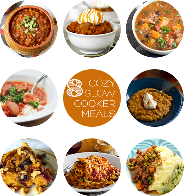8 Cozy Slow Cooker Meals for Autumn | Squirrelly Minds