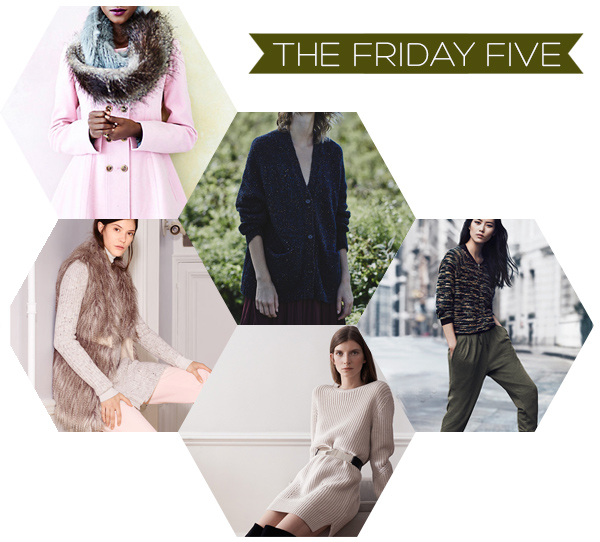 The Friday Five - Fall Fashion | Squirrelly Minds