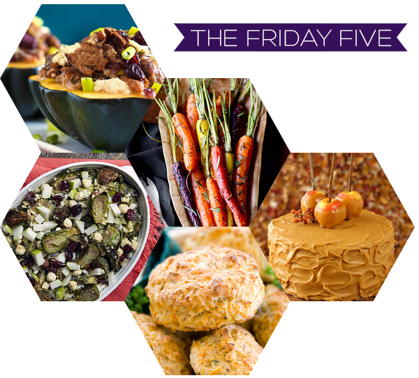 The Friday Five - Thanksgiving Dishes | Squirrelly Minds