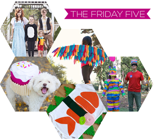 The Friday Five - Halloween Costumes | Squirrelly Minds