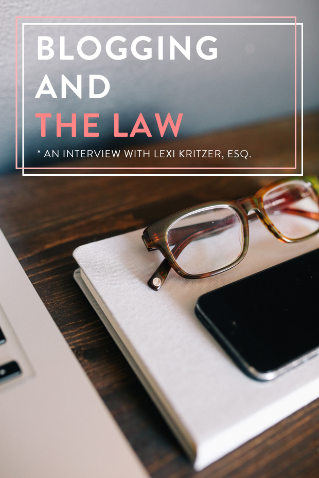 Blogging and The Law from The Well