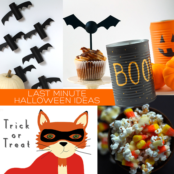 Last Minute Halloween Ideas | Squirrelly Minds
