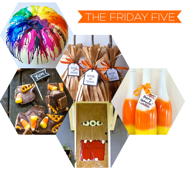 The Friday Five - Halloween | Squirrelly Minds