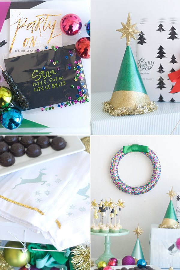 Party Hop! The Season to Sparkle - Photo by Sara of Confetti Sunshine | Squirrelly Minds