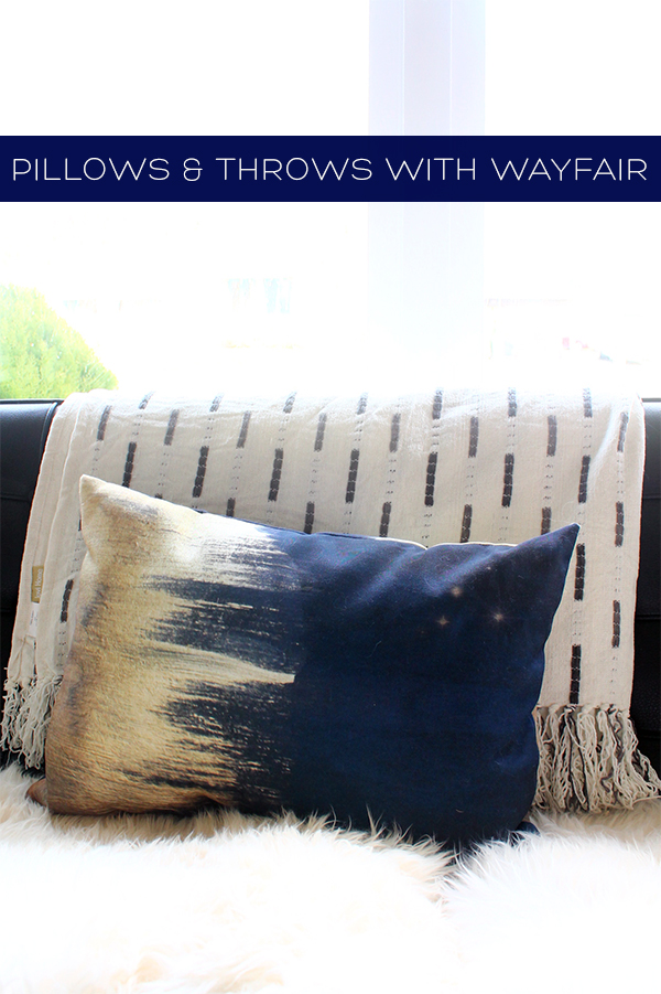 Pillow and Throws with Wayfair | Squirrelly Minds
