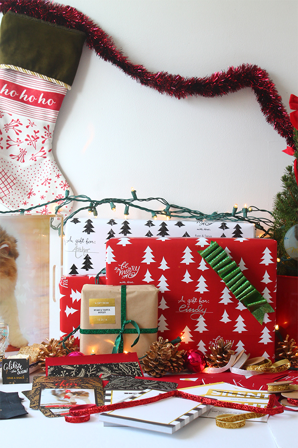 Christmas Wrapping & Merriment with Tiny Prints | Squirrelly Minds