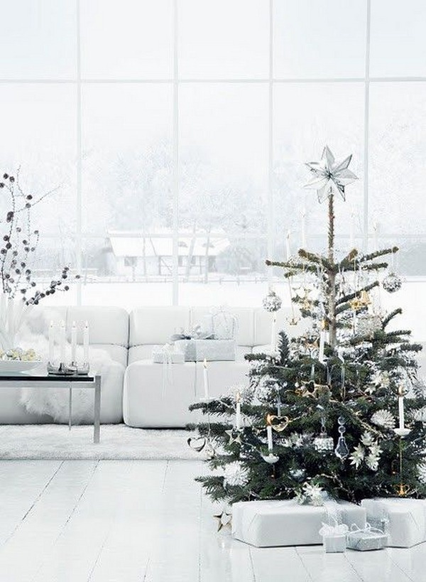 Top 10 Natural Glam Christmas Trees - 1 Decor | Squirrelly Minds