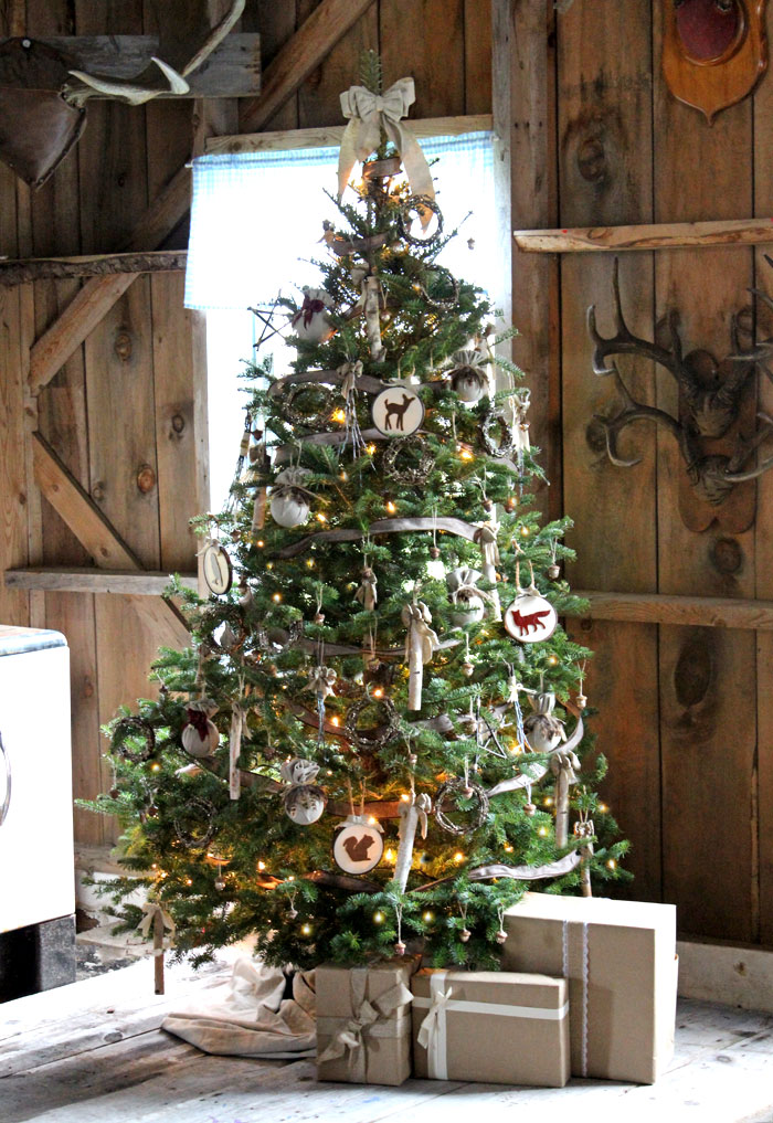 Top 10 Natural Glam Christmas Trees - Fyne Designs | Squirrelly Minds