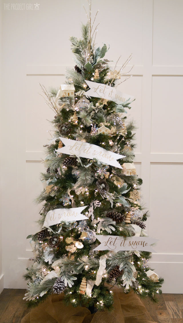 Top 10 Natural Glam Christmas Trees - The Project Girl | Squirrelly Minds
