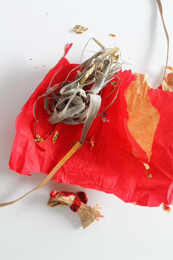 DIY Air Plant Christmas Cracker | Squirrelly Minds