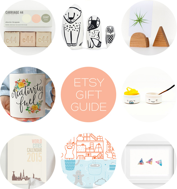 Etsy Gift Guide | Squirrelly Minds