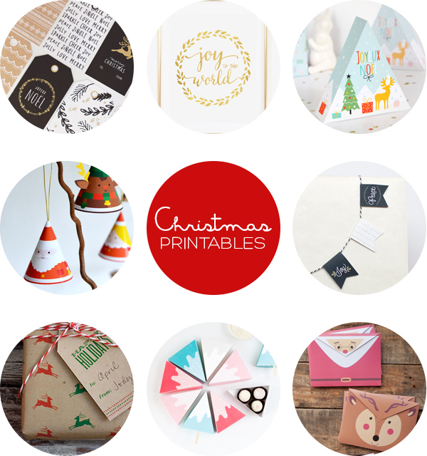8 Christmas Printables | Squirrelly Minds
