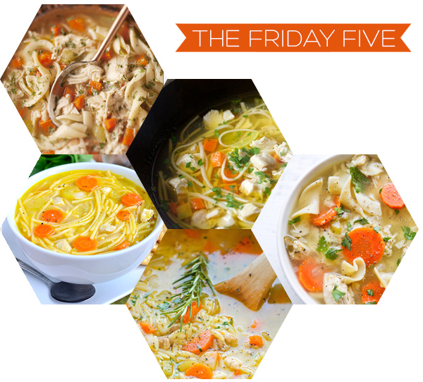 The Friday Five - Chicken Noodle Soup | Squirrelly Minds