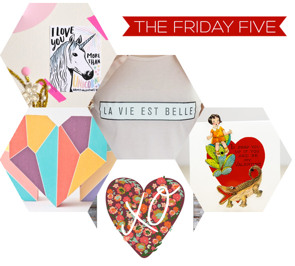 The Friday Five - Valentine's Printables | Squirrelly Minds