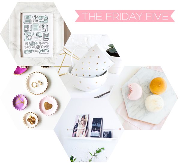 The Friday Five - Current Fave DIY's | Squirrelly Minds