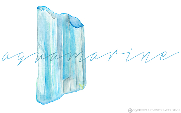 Free Aquamarine Desktop Wallpaper | Squirrelly Minds