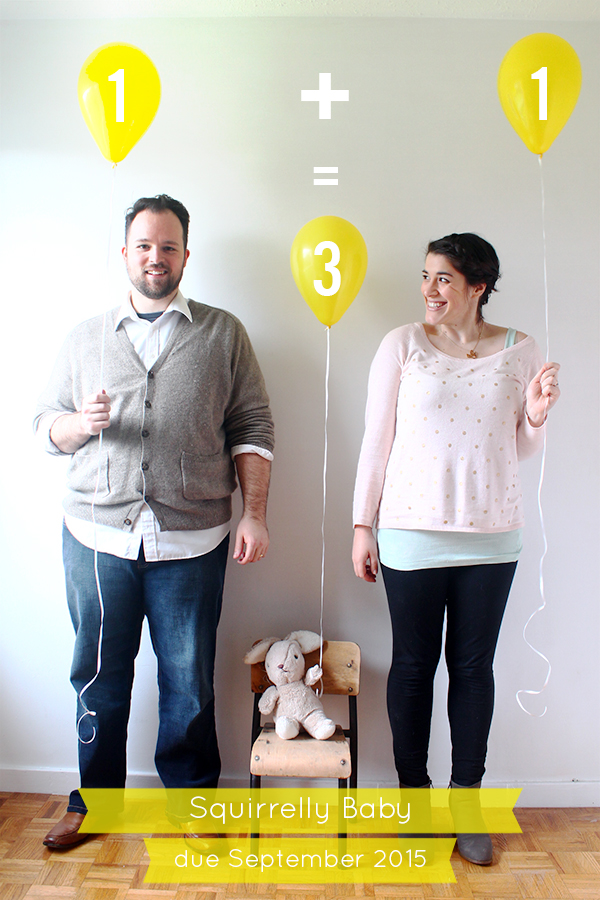 Squirrelly Baby Announcement | Squirrelly Minds
