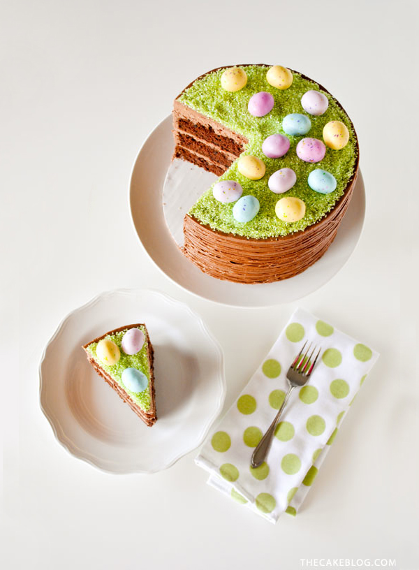 10 Best Easter Cakes - Carrie Sellman on The Cake Blog | Squirrelly Minds