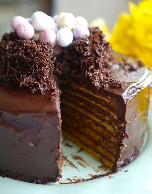 10 Best Easter Cakes - Victoria Glass on Great British Chefs | Squirrelly Minds