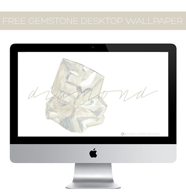Free Diamond Desktop Wallpaper | Squirrelly Minds