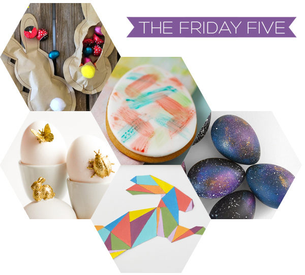 The Friday Five - Easter DIY's | Squirrelly Minds