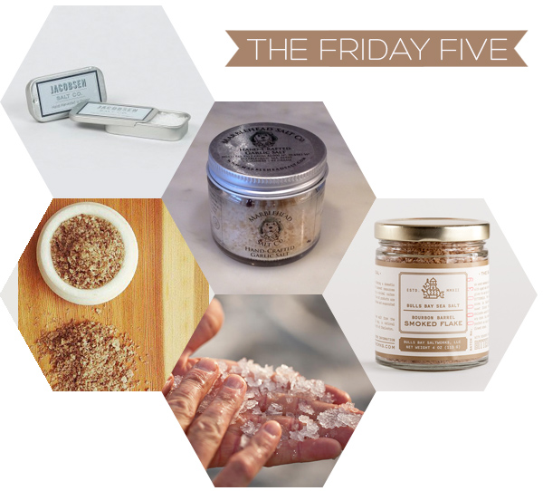 The Friday Five - Salt | Squirrelly Minds