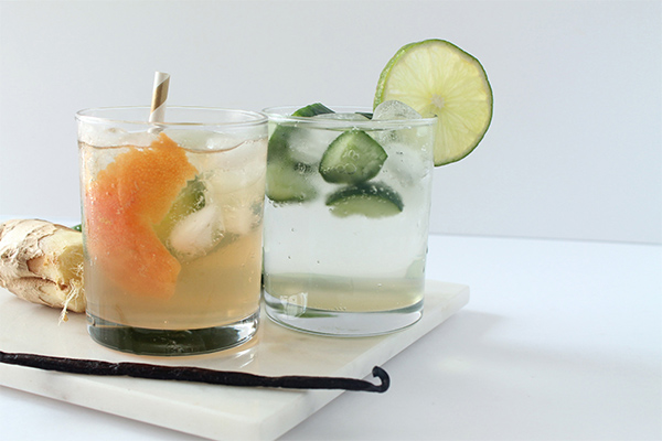 Ginger Kick G&T Cocktail and Mocktail | Squirrelly Minds | Squirrelly Minds